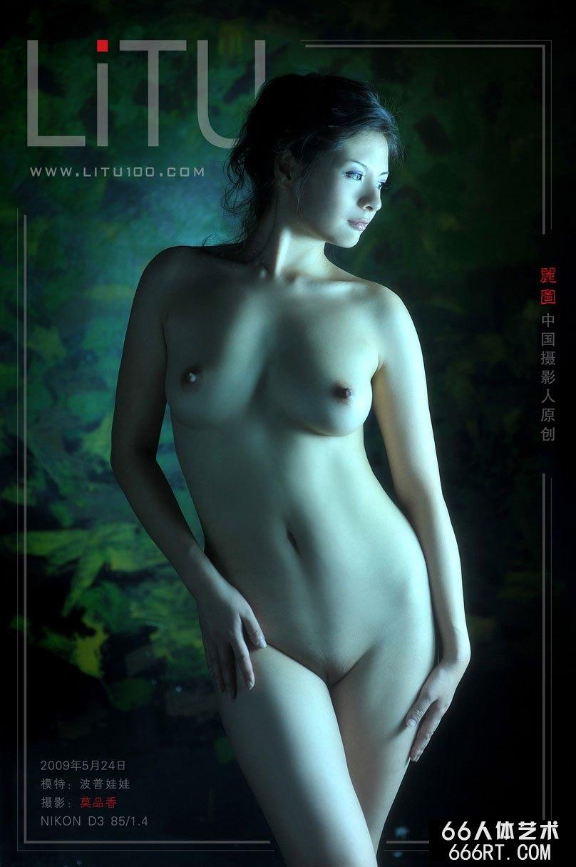 GOGO专业大尺度高清人体_精品模特波普娃娃09年5月24日室拍作品