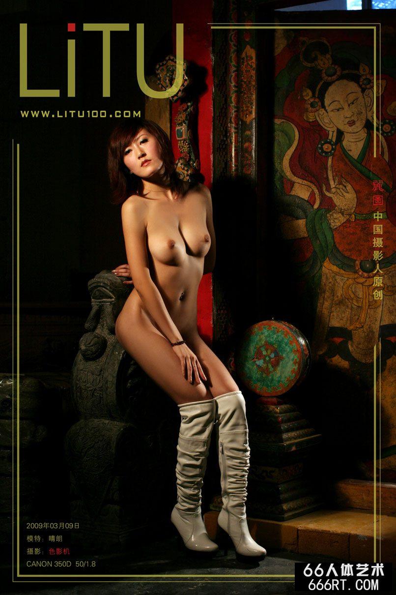 名模晴朗09年3月9日西藏室拍