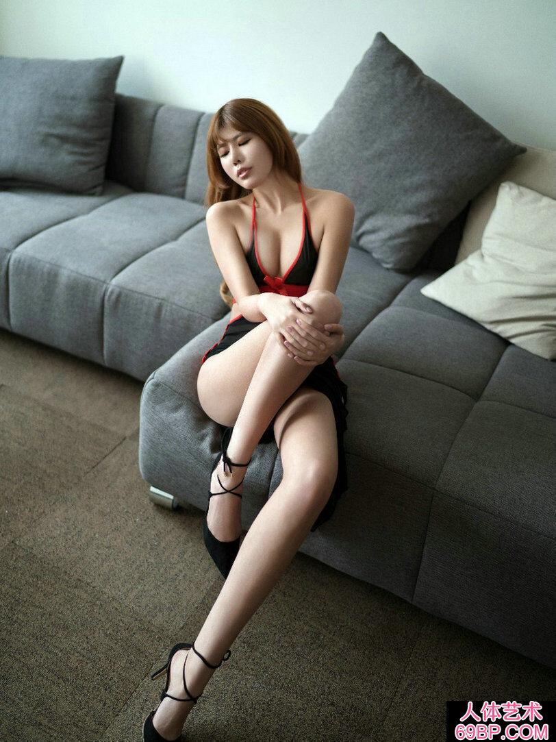 白富美安沛蕾高尚公寓高清摄影写真