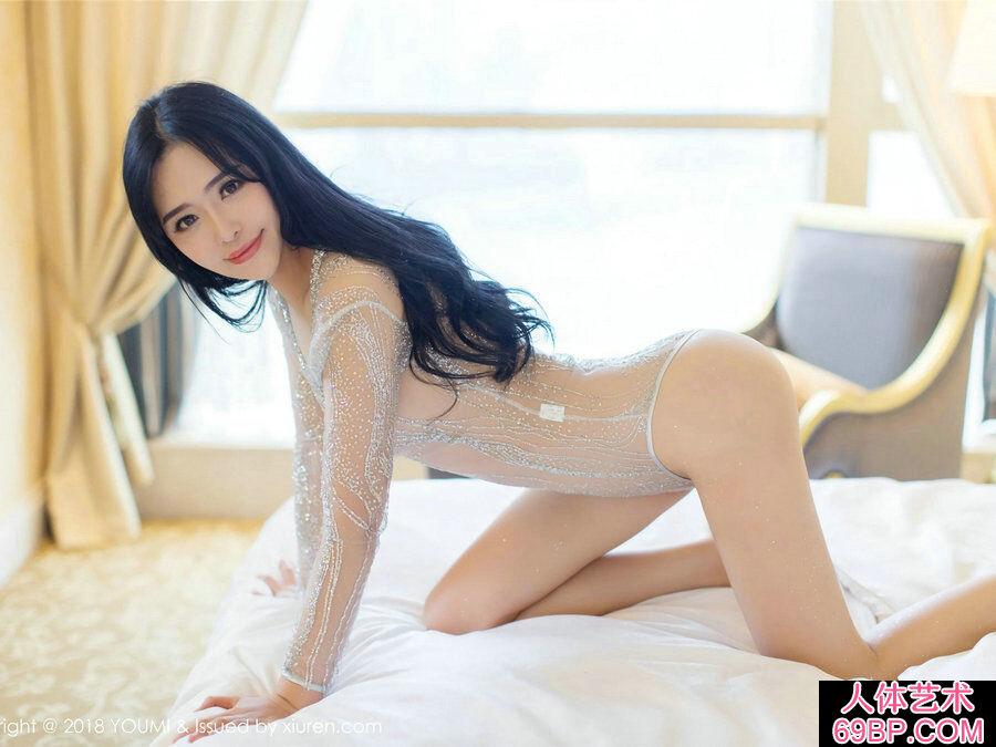 [尤蜜荟I]VOL.124穿超薄透明装的刘钰儿私密摄影